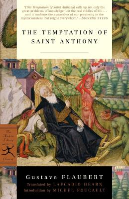 Mod Lib The Temptation Of St Anthony book