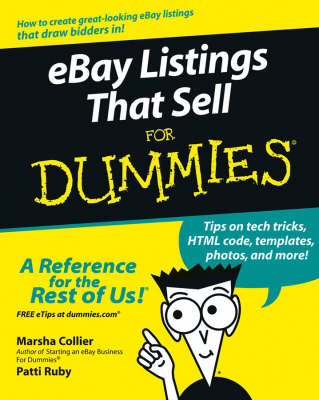 eBay Listings That Sell For Dummies book