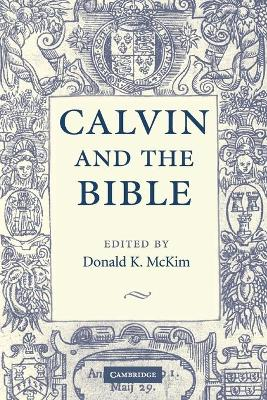 Calvin and the Bible book