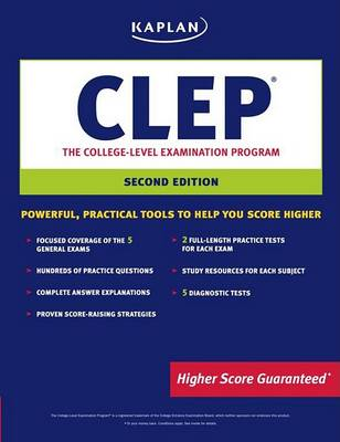 Kaplan CLEP: The College Level Examination Program: 2007-2008 by Anaxos Inc