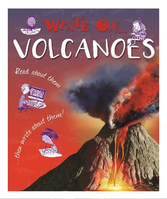 Write On: Volcanoes book