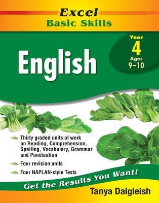 Excel Basic Skills - English Year 4 by Tanya Dalgleish