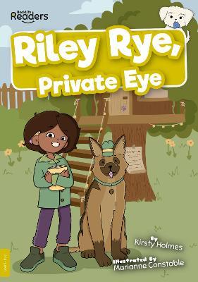Riley Rye, Private Eye book