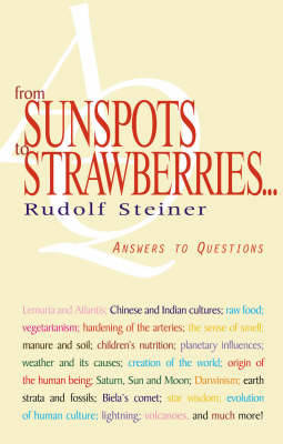 From Sunspots to Strawberries by Rudolf Steiner