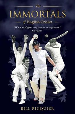 Immortals of English Cricket book