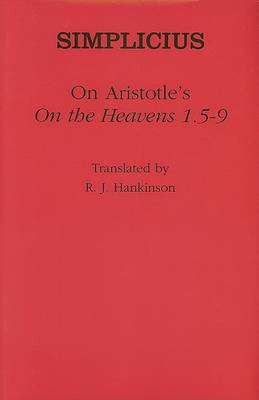 "On Aristotle's ""On the Heavens 1.5-9"" by Simplicius"