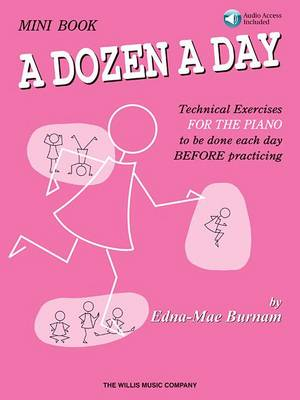 Dozen A Day (Mini Book/Online Audio) by Edna Mae Burnam