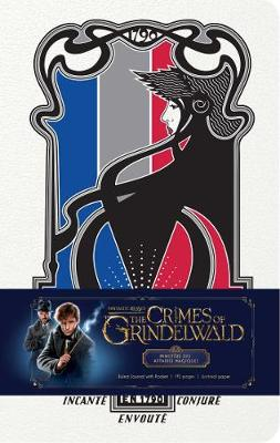 Fantastic Beasts: The Crimes of Grindelwald: Ministere des Affaires Magiques Hardcover Ruled Journal by Insight Editions