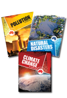 Australia's Environmental Issues - Set of 3 Books by Peter Turner