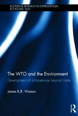 WTO and the Environment book
