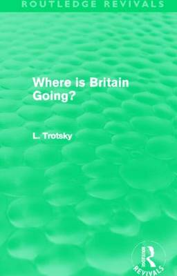 Where is Britain Going? book