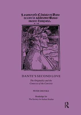 Dante's Second Love by Peter Dronke
