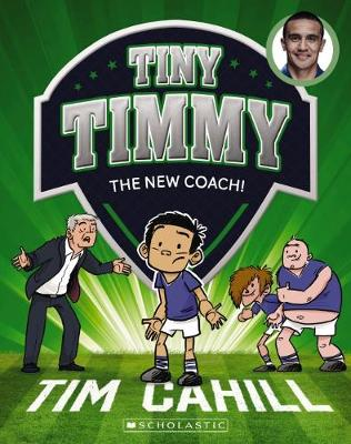 Tiny Timmy #10: The New Coach book