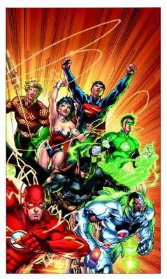 Justice League By Geoff Johns Box Set Vol. 1 by Jim Lee
