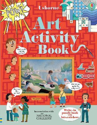 Art Activity Book by Rosie Dickins