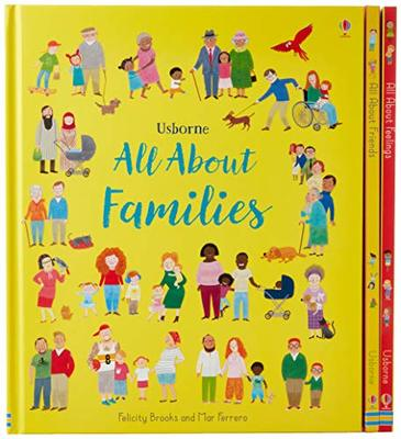 My First Book All About Family, Friends and Feelings by Felicity Brooks