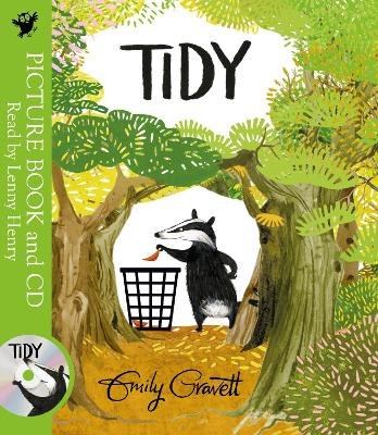 Tidy: Book and CD Pack by Emily Gravett