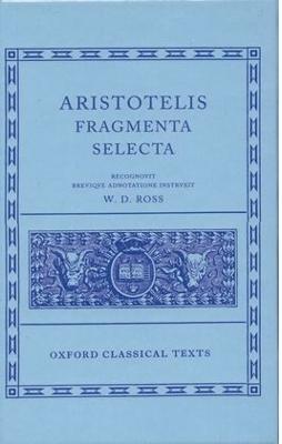 Aristotle Fragmenta Selecta book