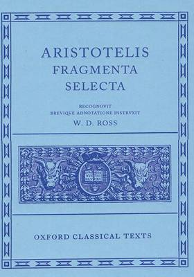 Aristotle Fragmenta Selecta book