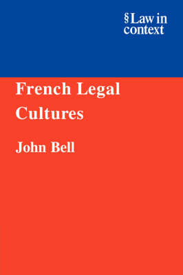 French Legal Cultures book