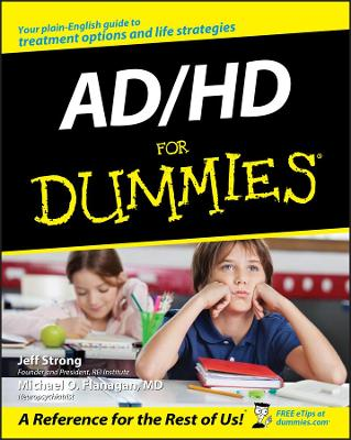 Ad/Hd for Dummies by Jeff Strong