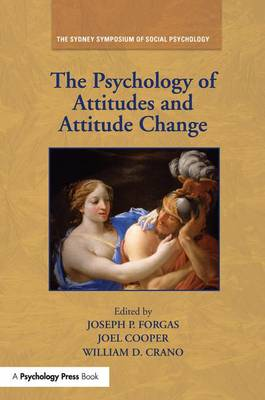 Psychology of Attitudes and Attitude Change by William D. Crano