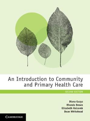 An Introduction to Community and Primary Health Care by Diana Guzys