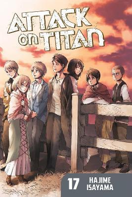 Attack On Titan 17 book