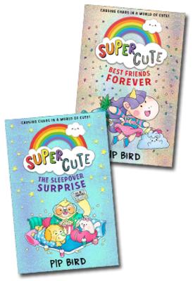 Super Cute - Set of 2 Books by Pip Bird