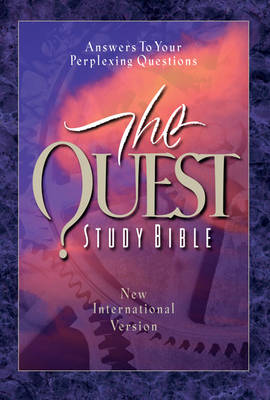 The Quest Study Bible Personal Size by Marshall Shelley