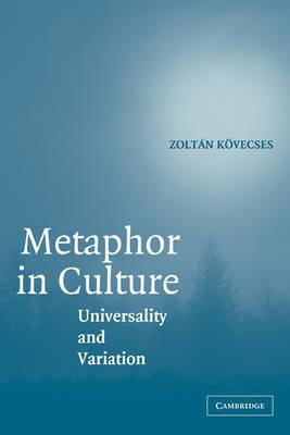 Metaphor in Culture book