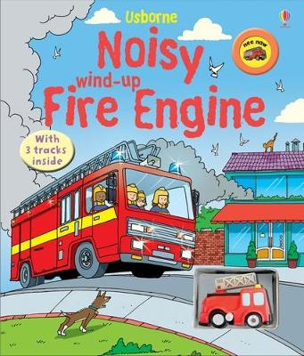 Noisy Wind-Up Fire Engine by