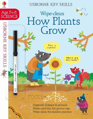 Wipe-Clean How Plants Grow 5-6 by Hannah Watson