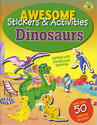 Sticker Activity book - Dinosaurs by The Book Company