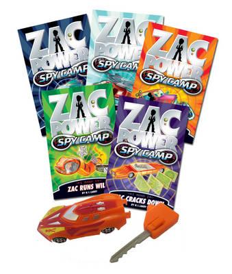 Zac Power Spy Camp by H. I. Larry
