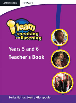 i-learn: Speaking and Listening Years 5 and 6 Teacher's Book book