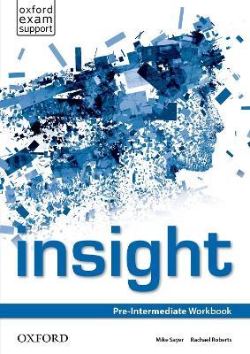 insight: Pre-Intermediate: Workbook book