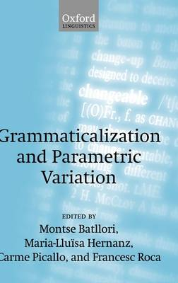 Grammaticalization and Parametric Variation book