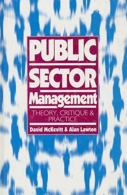 Public Sector Management by David McKevitt