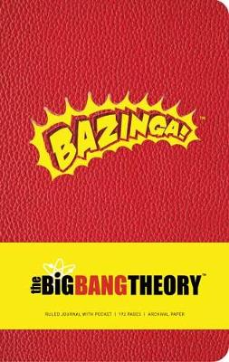 Big Bang Theory Hardcover Ruled Journal by Insight Editions