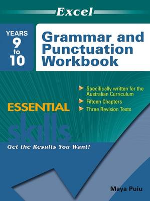 Grammar and Punctuation Workbook Years 9-10 book