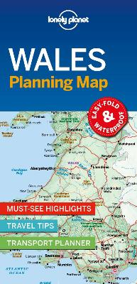 Lonely Planet Wales Planning Map by Lonely Planet