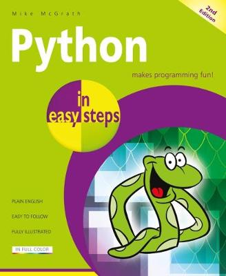 Python in easy steps by Mike McGrath