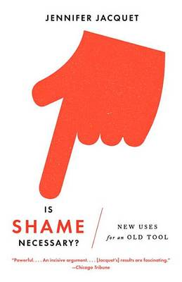 Is Shame Necessary? book