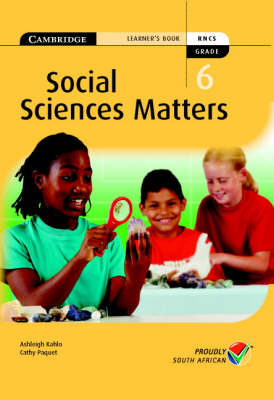 Social Science Matters Grade 6 Learner's Book by Susan Heese