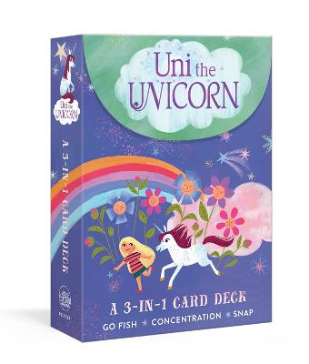 Uni the Unicorn 3-in-1 Card Deck: Card games include Crazy Eights, Concentration, and Snap by Amy Krouse Rosenthal