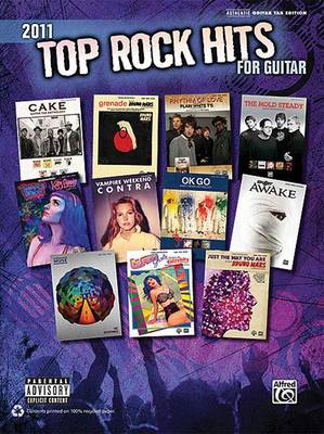 Top Rock Hits for Guitar by Alfred Publishing