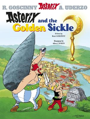 Asterix: Asterix and the Golden Sickle book