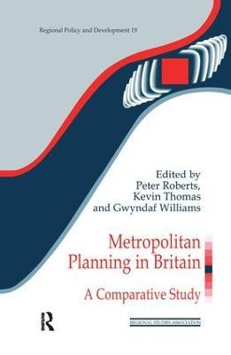 Metropolitan Planning in Britain book