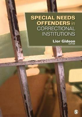 Special Needs Offenders in Correctional Institutions by Lior Gideon